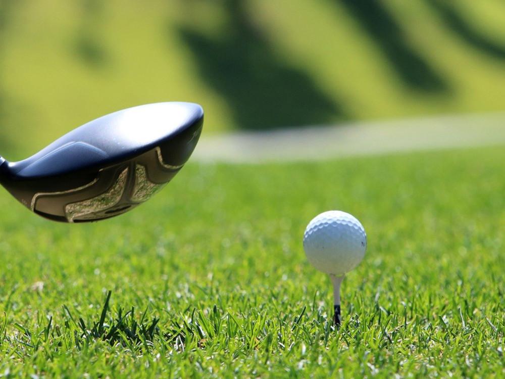 Red Dot Golfball